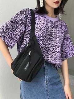 🚚 紫色風豹狂T