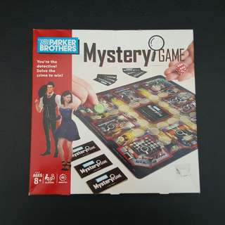 PARKER BROTHERS Mystery Game