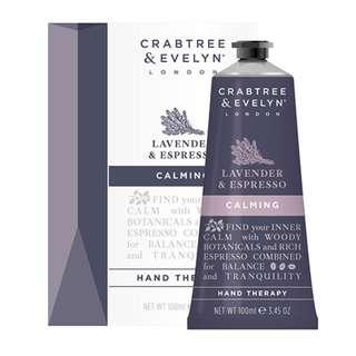 Crabtree Hand Therapy 100g (Lavender & Esspresso)