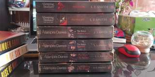 The Vampire Diaries Series by L J Smith
