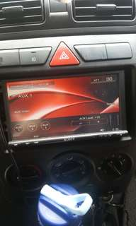 Car DVD player (Sony)