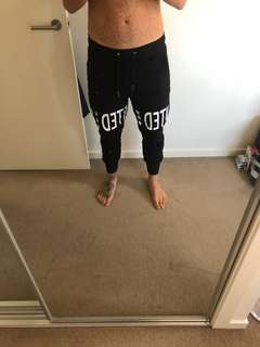 Heist Track Pants/Joggers in Black