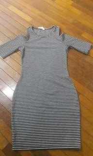 Kitschen off shoulder dress #20under
