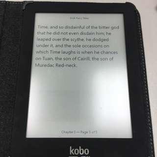 Kobo glo ebook 電子書 送 smart cover
