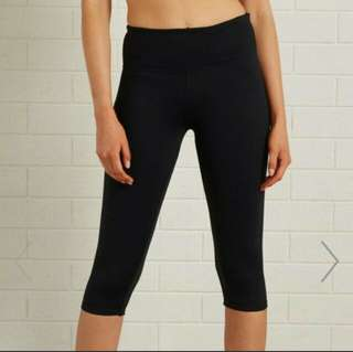 Cotton On Active Core Capri Black