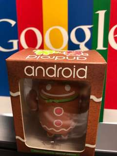 Android Robot Collectible - Ginger Gene
