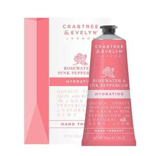 Crabtree Hand Therapy 100g (Rosewater & Pink Peppercorn)