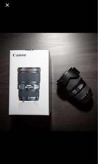Final Offer! Canon EF 16-35mm L F/4.