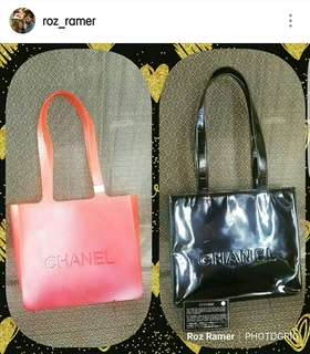 Chanel PINK Jelly tote