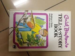 ENID BLYTON Tell a story book