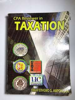 CPA Reviewer in Taxation by Ampongan