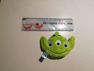 Little green men pouch