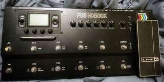 Line 6 POD HD500X Guitar Floor Multi-Effects Pedal