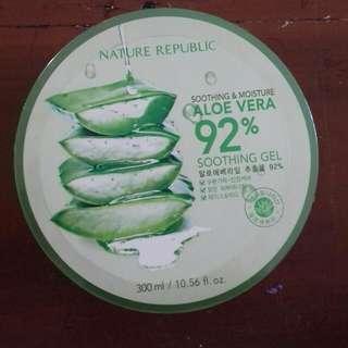 Nature Republic Aloevera Shooting Gel 92%