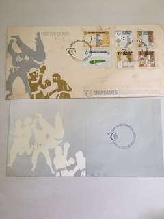FP! FDC first day cover 1973 SEAP games