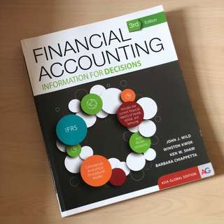 ACC1701/ACC1002 Financial Accounting Textbook