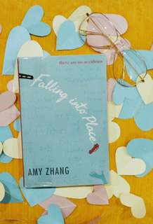 Falling Into Place by Amy Zhang (With Plastic Cover)