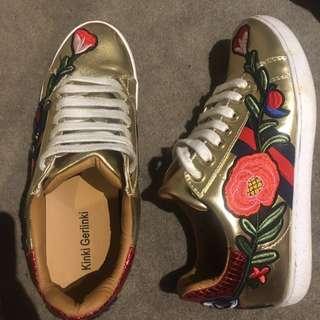 Kinki gerlinki Gucci style shoes