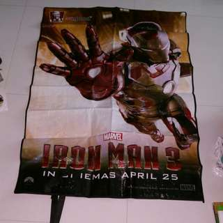 Brand new Marvel Avengers Iron man picnic mat