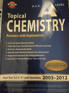 H1 chemistry materials