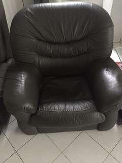 Sofa single + sofa reclining