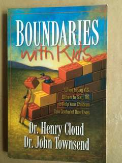 Boundaries with kids by Dr Henry Cloud
