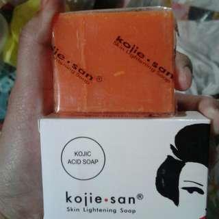 Kojie-San Skin Lightening Soap.