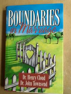 Boundaries in Marriage By Dr Henry Cloud