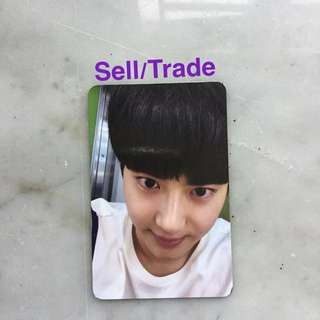 EXO sing for you photocard (SUHO)