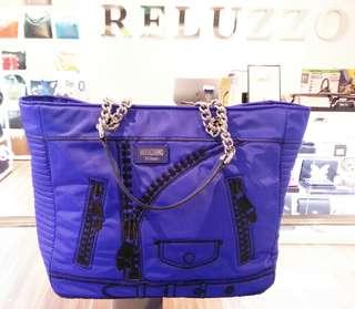 Moschino Couture Borsa Tracolla Bag Blue