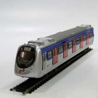 懷舊  2001年  九廣鐵路 1:87 列車模型