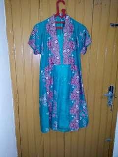 NEW!! Dress brokat batik