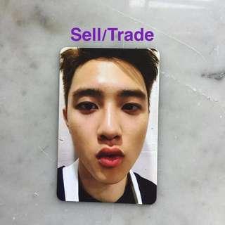 EXO kokobop photocard (D.O)