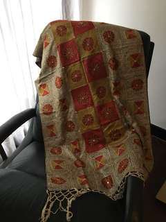Indian throw and or table cloth