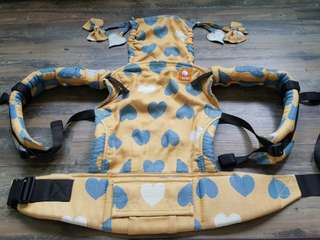 Tula Baby Carrier Standard Love Soleil with full accessories