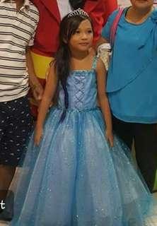 Frozen Inspired Gown (Elsa)