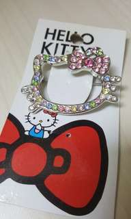 Hello Kitty Rhinestone Brooch