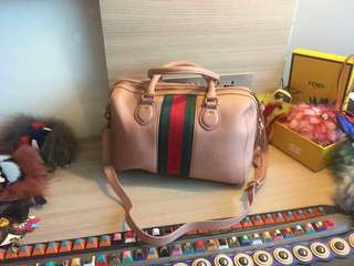 Gucci Pink with Stripes