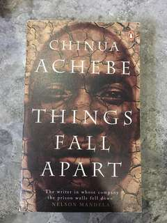 Things Fall Apart Chinua Achebe (2 books)
