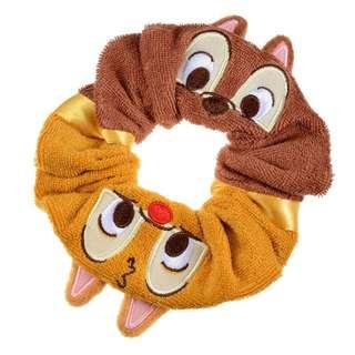 日本 Disney Store 直送 Summer Fun 系列 Chip n Dale 鋼牙大鼻髮圈橡筋