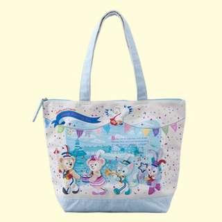 Tokyo Disneysea Disneyland Disney Resorts Sea Land Happy Marching Fun 2018 Duffy & Friends Tote Bag
