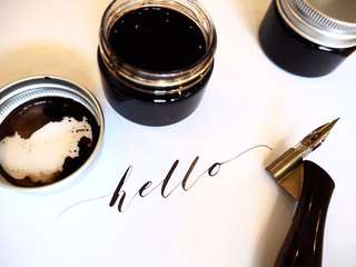 Walnut Ink for Calligraphy