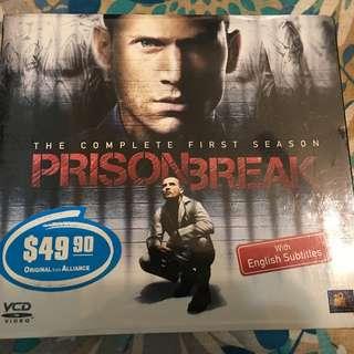 PRISON BREAK SEASON 1 (VCD)