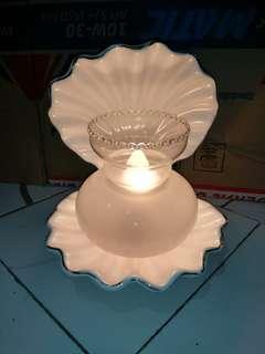 Lampu tidur keramik