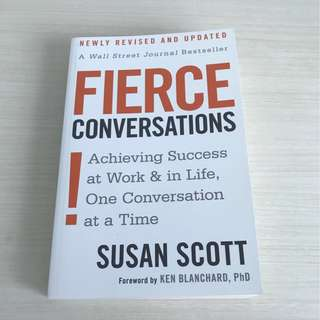 Brand New Fierce Conversations by Susan Scott