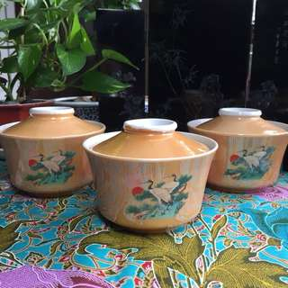 Vintage Gui Ling Gao bowl 龟苓膏碗 $30 for all