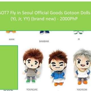 GOT7 gotoon dolls