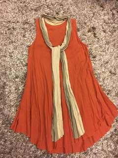 Bohemian style midi dress