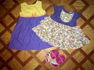 Bundle baby dress 6-9 months