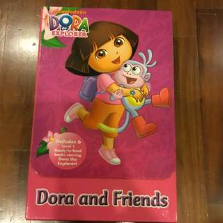 Dora the explorer readers - set of 7 storybooks
